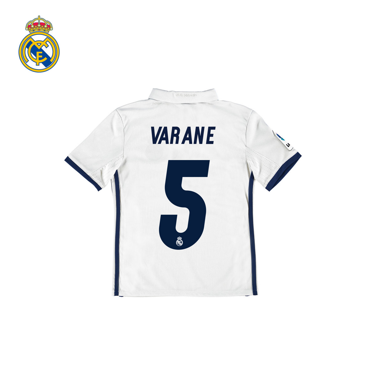468352b90 Get Quotations ·  Youth  real madrid real madrid 16 17 season home jersey  short sleeve jersey