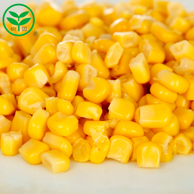 Yu garden fresh and ready to eat cooked frozen sweet corn farm corn grains whole grains whole grains wholesale baking ingredients 340*2