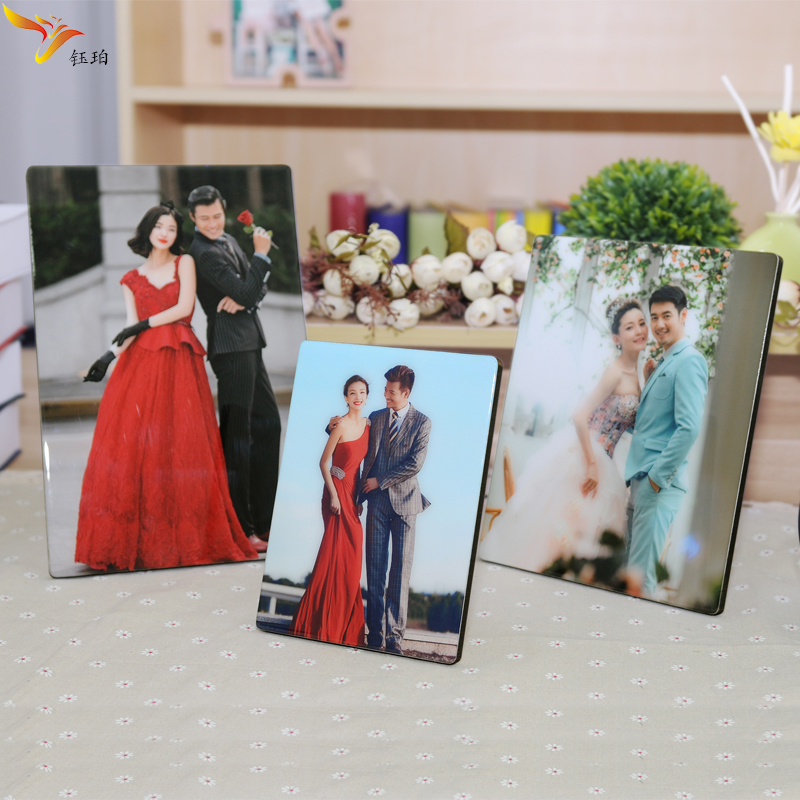 Yu po korea korean crystal yami qi crystal engraving crystal photo frame studio photo frame swing sets 10 inch living water