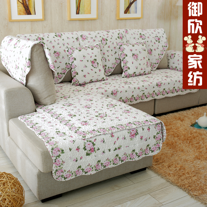 Yu xin pastoral fashion seasons cotton fabric cushion sofa cushion slip slipcover sofa cover towel pillow cover