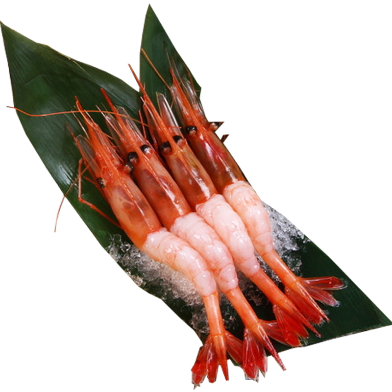 Yu xuan fresh 55-60 only 1 kg per cent imported russian arctic sweet shrimp sashimi seafood