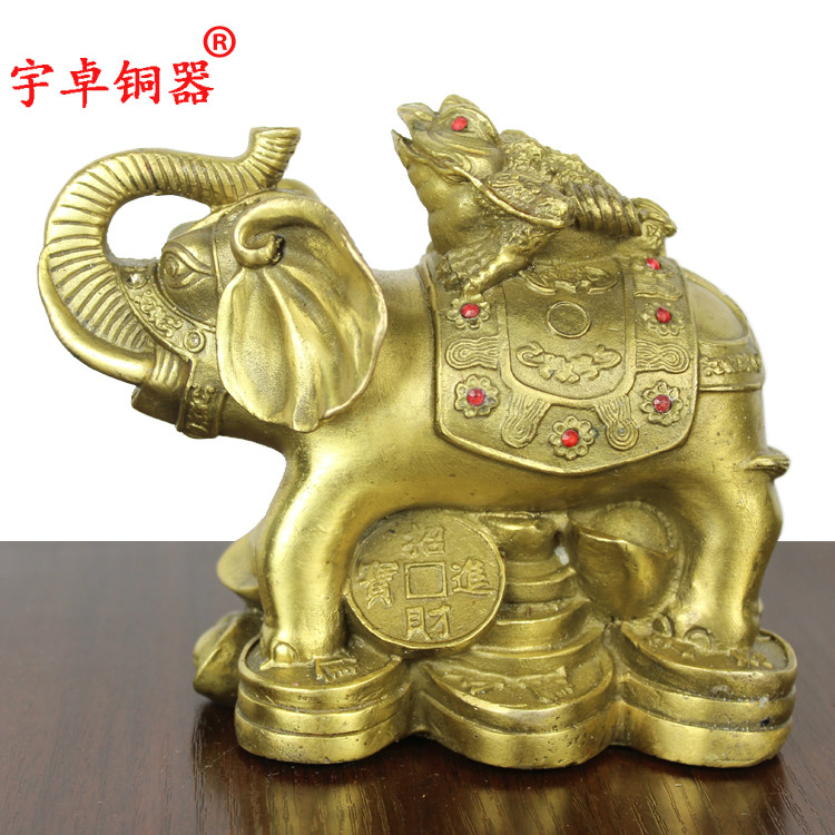Yu zhuo bronze copper as copper toad like a toad copper ornaments crafts home decor