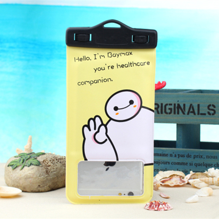 Yunhui can touch screen mobile phone protective sleeve shell large waterproof bag waterproof bag waterproof bag travel essential