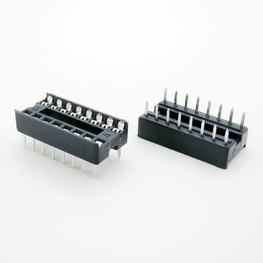 Yunhui dip-16p transposon ic chip mounting seat ic socket ic socket slot
