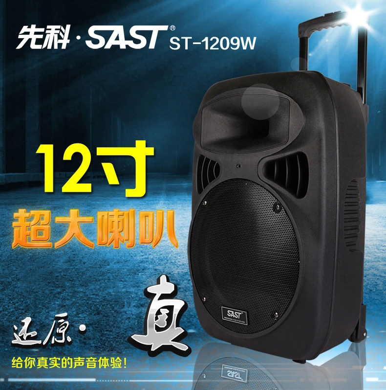 Yushchenko outdoor square dance sound power outdoor mobile dance card 12 inch trolley speaker megaphone