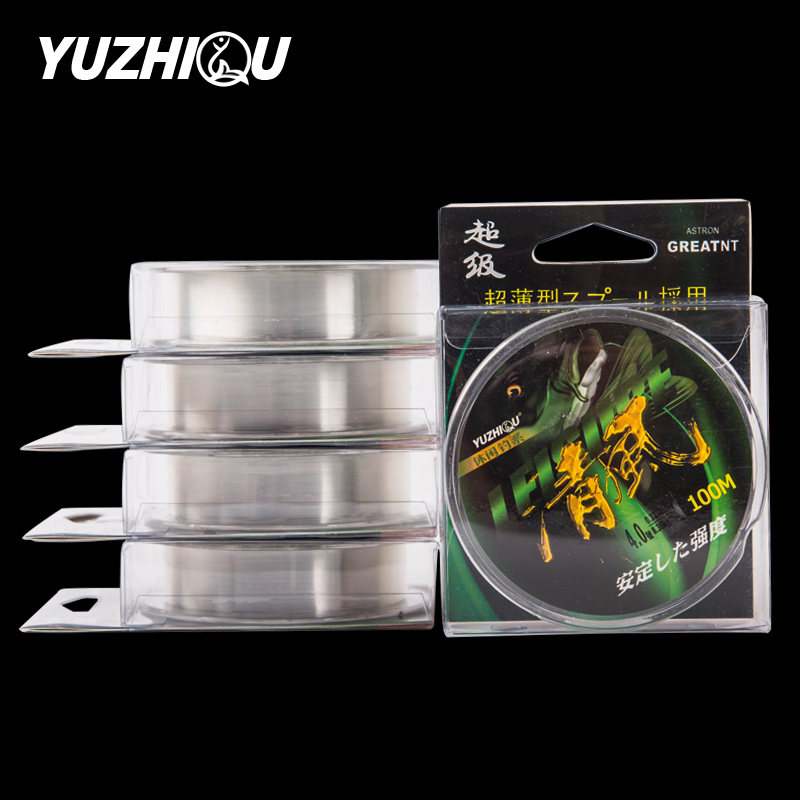 Yuzhiqu breeze 100 m nylon fishing line fishing line fishing angeles asian fishing line sea pole pole line fishing line fishing tackle