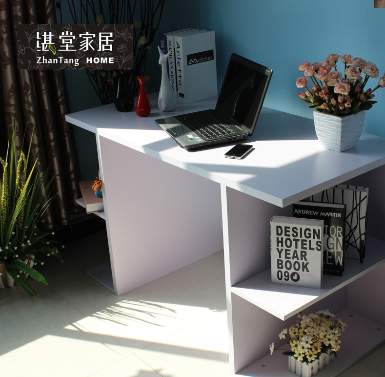 Zhan tong new computer desk table modern minimalist office desk creative desktop computer desk laptop table ZTS115
