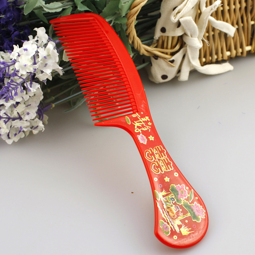 Zhe xi shun wedding supplies festive wedding supplies wedding bridal combs comb plastic comb