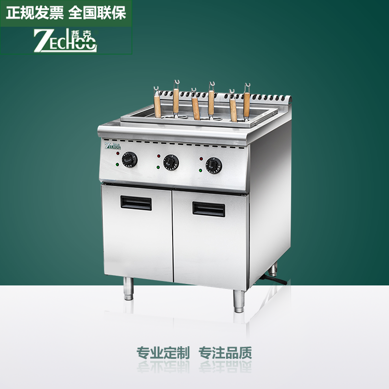 Zheke commercial large soup pot spicy cooking stove electric furnace insulation soup stove energy saving stove to cook noodles barrels