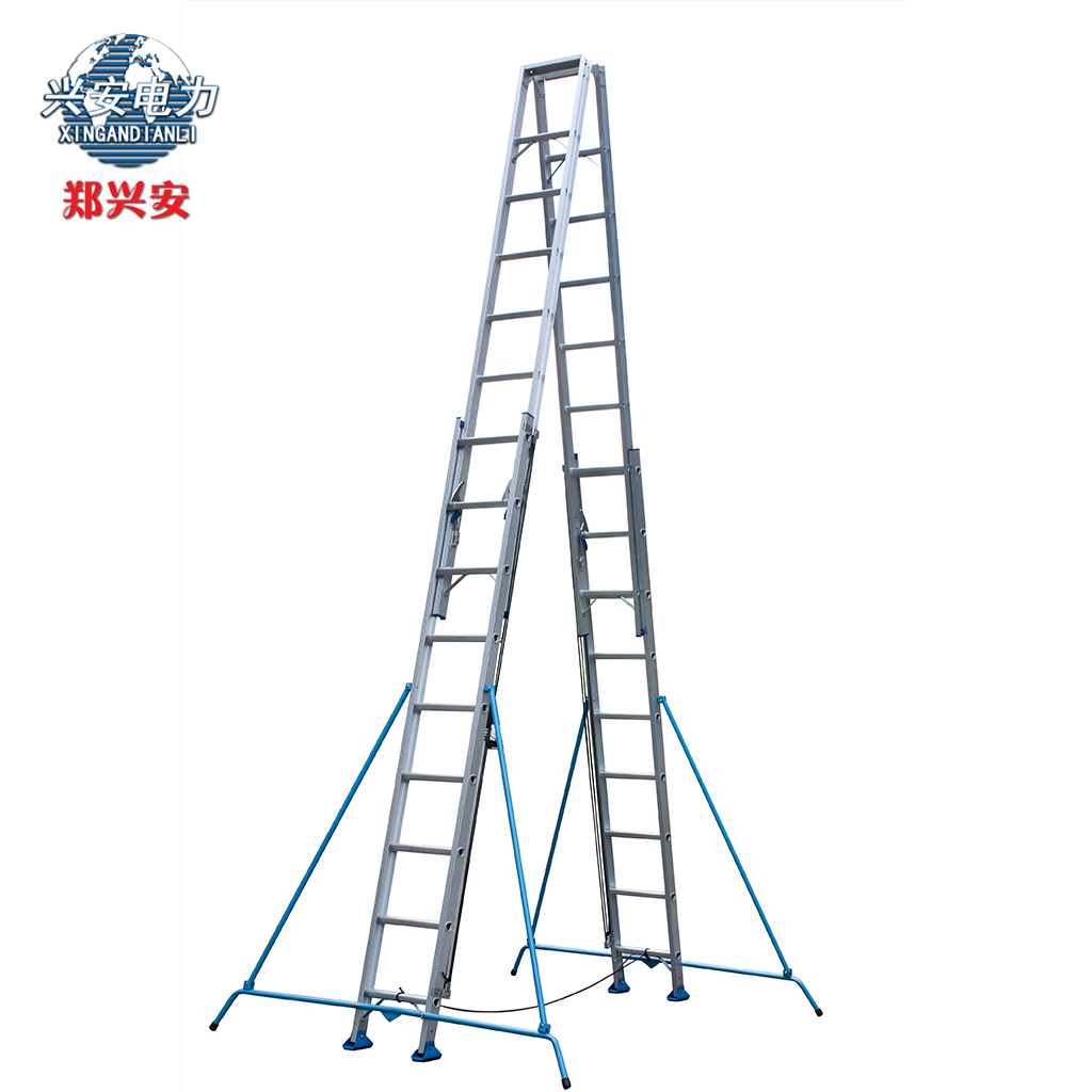 Zheng xing 8 m aluminum ladder word ladder thick aluminum ladder telescopic ladder lift sided type a ladder