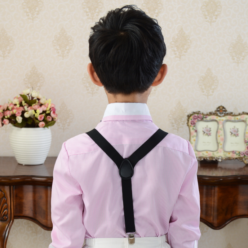 Zhi ai ni children overalls children clip strap pants folder folder po po boys and girls elastic strap strap pants folder costumes