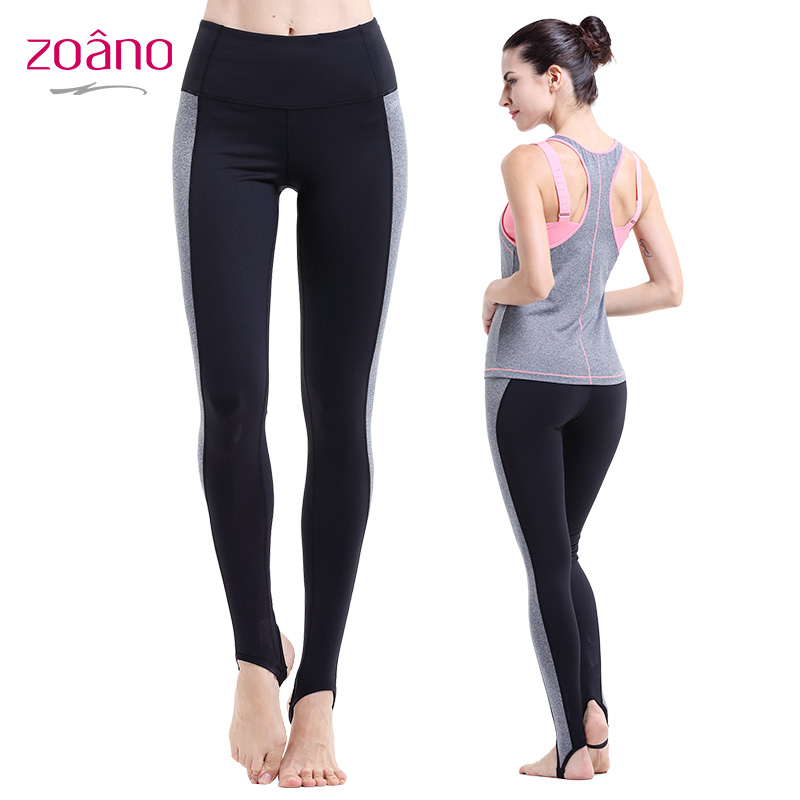 Zona spring and summer step foot woman yoga pants yoga pants female sports pants tight trousers shipped move jogging pants dance pants