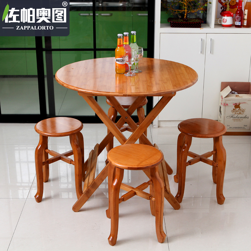 Get Quotations Zuopa Ortuà O As Folding Table Round Small Family Dinner Square
