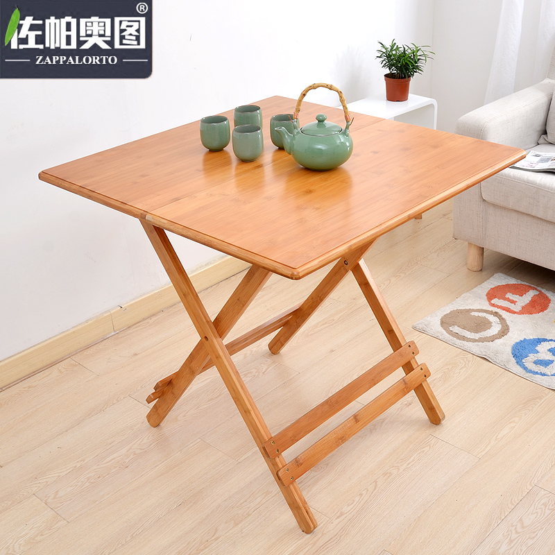 Get Quotations · Zuopa Ortuño As Outdoor Portable Folding Table Table Table  Simple Small Apartment Can Be