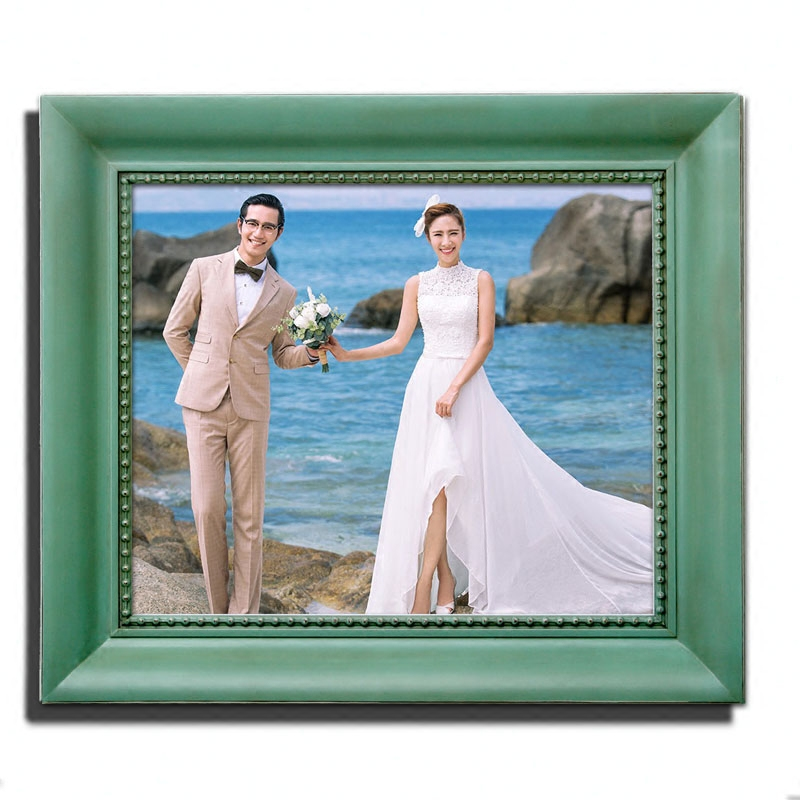 American frame creative personality mediterranean solid wood export vera photography photo frame craft large size of the beam