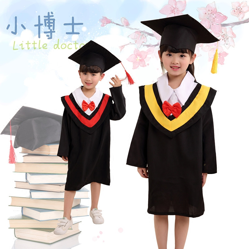 Children's costumes children dance clothing dr. clothing bachelor of service dr. cap graduation gown infant nursery men and women