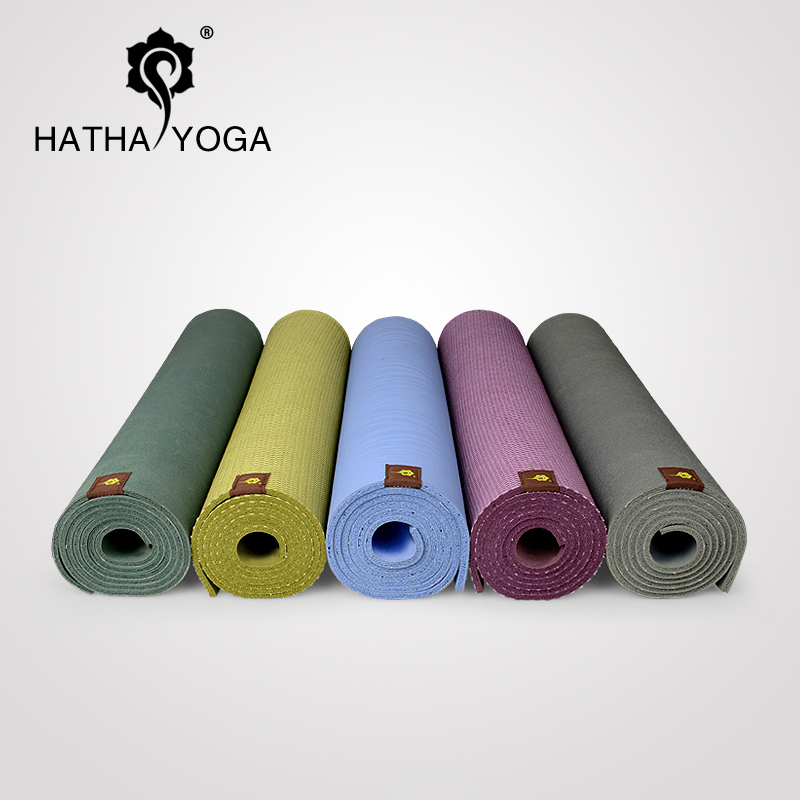 Hatha yoga mat] [wet skid natural rubber yoga mat increasingly thick mat green slip yoga mat yoga mat