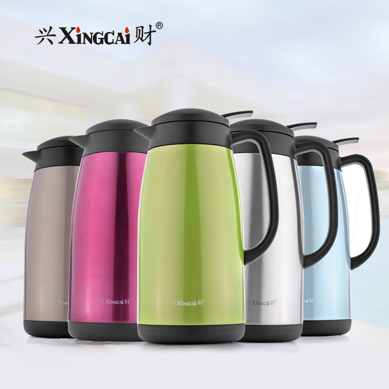 Hing choi 304 stainless steel liner thermos thermos thermos thermos pot thermos vacuum insulation home insulation pot kettle