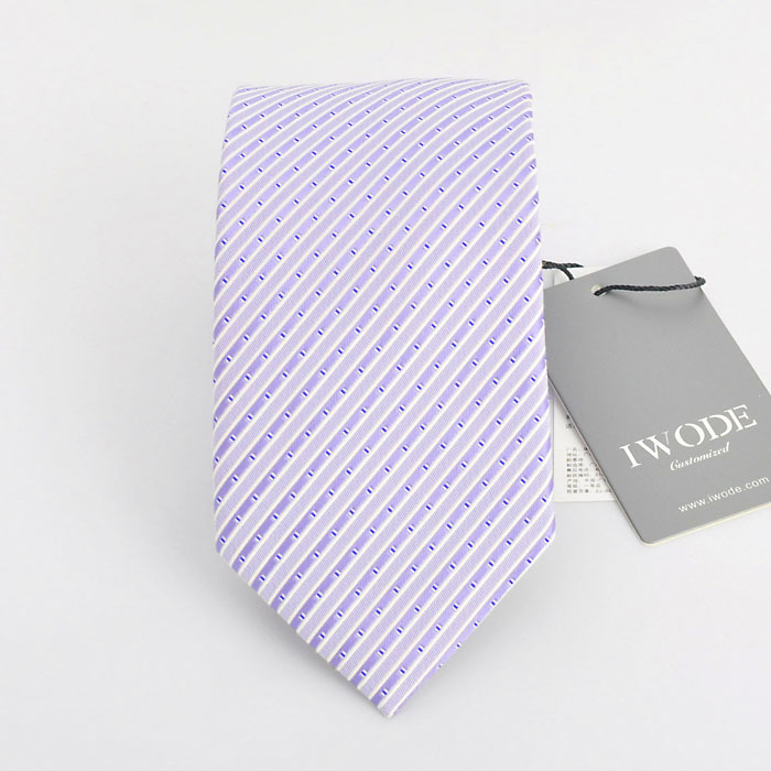 Iwode/evo summer thin section of the new south korean silk tie business suits england men's purple TIELD-60