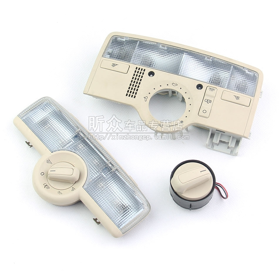 Old volkswagen passat passat old and the new front and rear reading lights interior dome light day window switch knob beige
