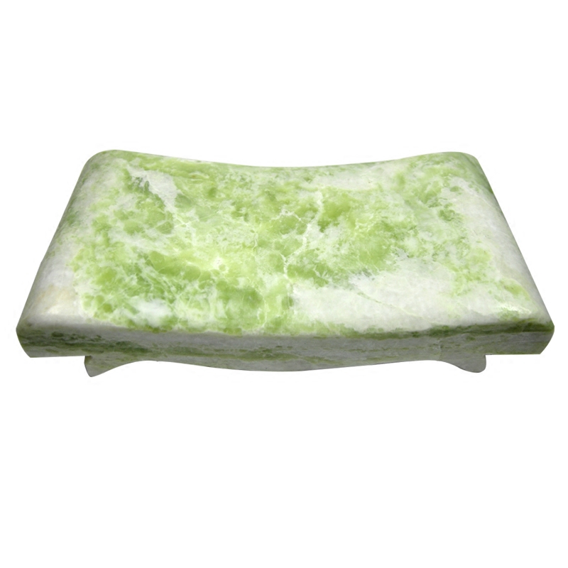 Zhuo us fidelity genuine natural jade jade pillow pillow summer solid stone wave pillow cervical pillow hard pillow