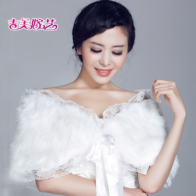 2016 new wedding shawl wool shawl bride dress accessories korean suit winter PJ00 9b bride wedding shawl