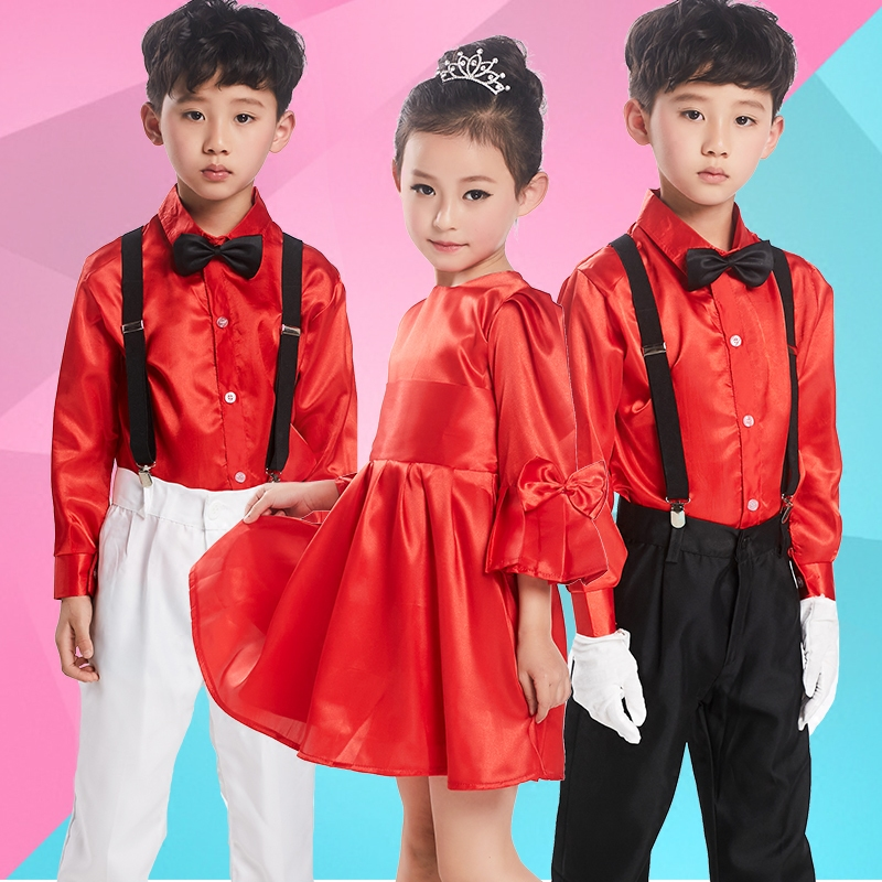 919244f7 Get Quotations · Children's choir costumes performance clothing children's  clothing for boys and girls primary school students infant clothing