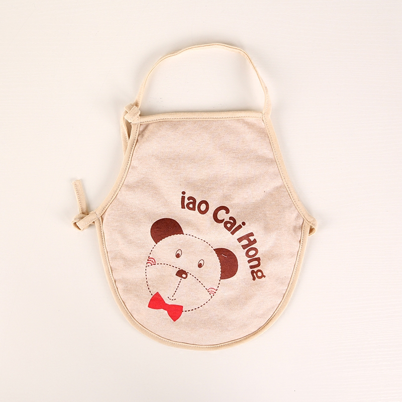 Infant autumn and winter thick cotton newborn spring and summer cotton apron apron newborn baby infant care apron