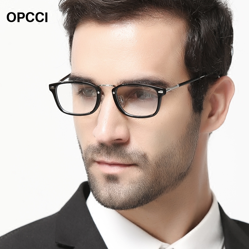 Lightweight retro frames myopia female models plate glasses frame glasses frame optical glasses male models flat optical glasses frames can be finished with the tide