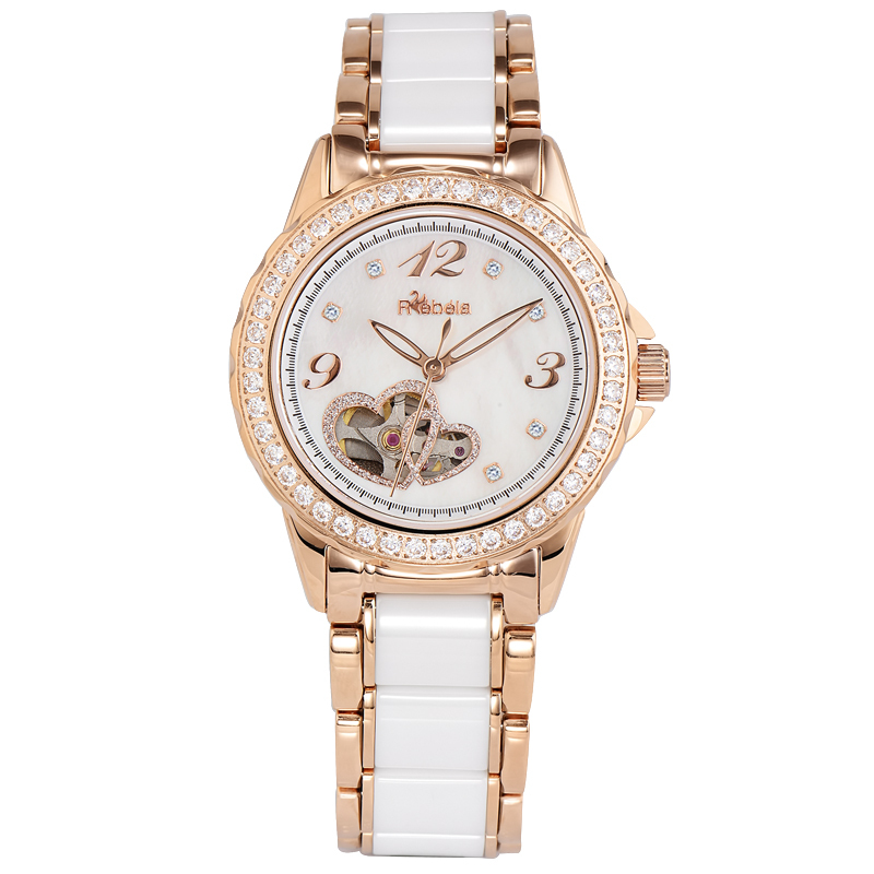 Ruibei la ms. mechanical watches automatic mechanical watches korean fashion ceramic female table 5100
