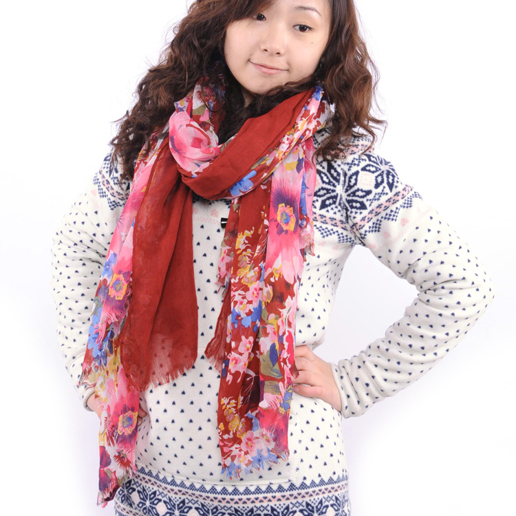Sheng and ethical autumn and winter ms. warm scarf scarf autumn and winter korean fashion gorgeous style