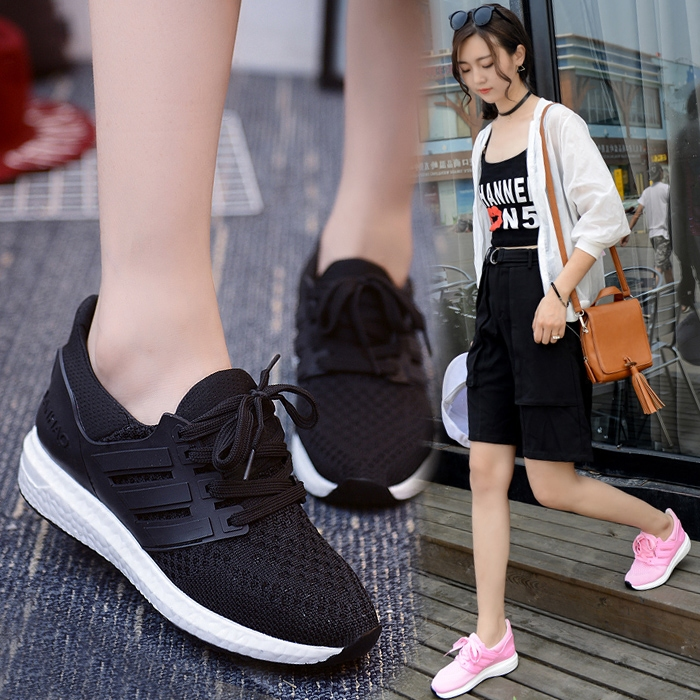 Super fire breathable mesh shoes sports shoes women running shoes women shoes women flat shoes casual shoes women's singles shoes casual shoes running shoes women