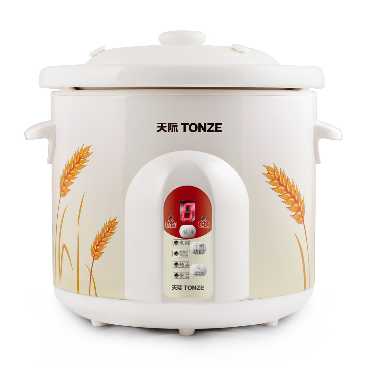 Tonze/skyline zzg-w520t timer reservation intelligent ceramic electric cooker porridge pot electric cooker porridge oats special price