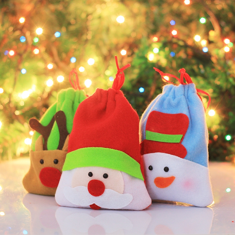 Christmas supplies christmas santa claus gift bag apple christmas christmas candy bags candy bags christmas supplies