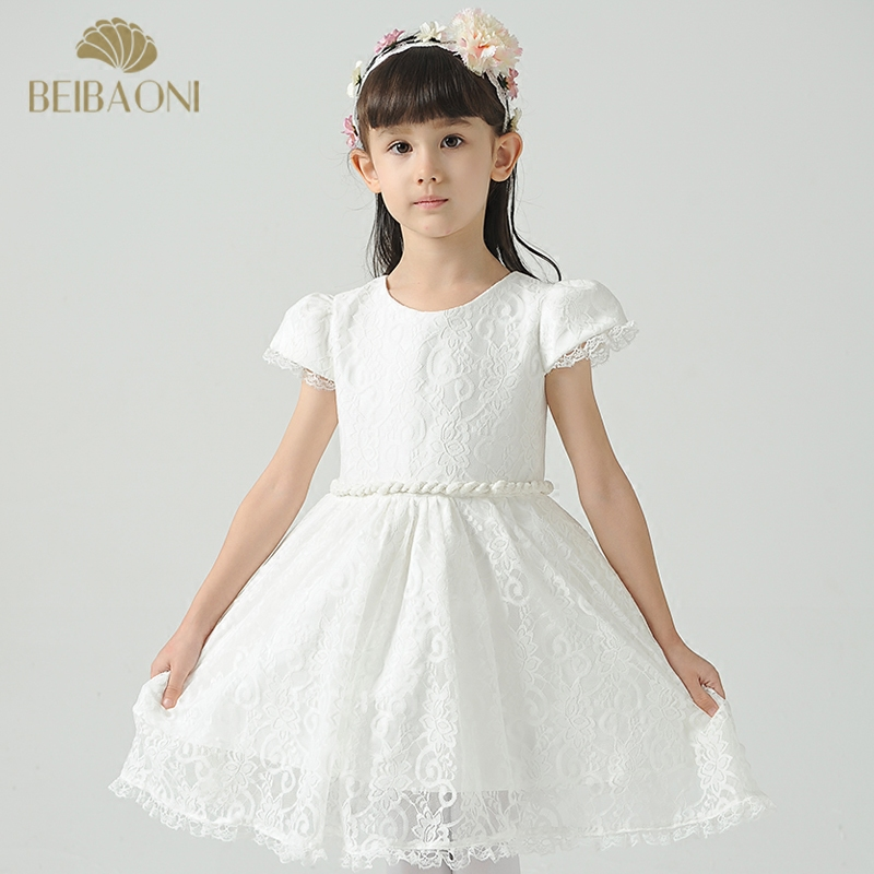 Flower girl dresses girls princess dress wedding dress wedding dress children dress skirt baby dress birthday party dress