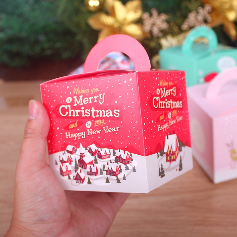 Paragraph 2016 christmas box ping guo he apple box christmas eve apple apple christmas gift box