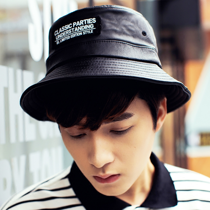 ade4d77eb3f Get Quotations · Personalized letters temperament θ0 fisherman hat bucket  hats spring and summer hat korean version
