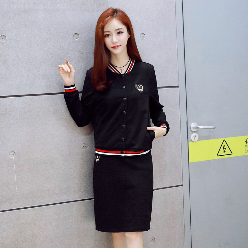 Women's fashion little shorty slim korean version of casual sports suit sports suit the new autumn