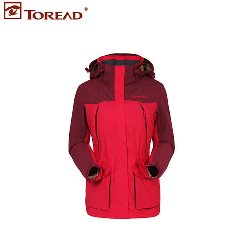 2015 winter new pathfinder genuine woman no single jackets windproof waterproof liner TABD92878