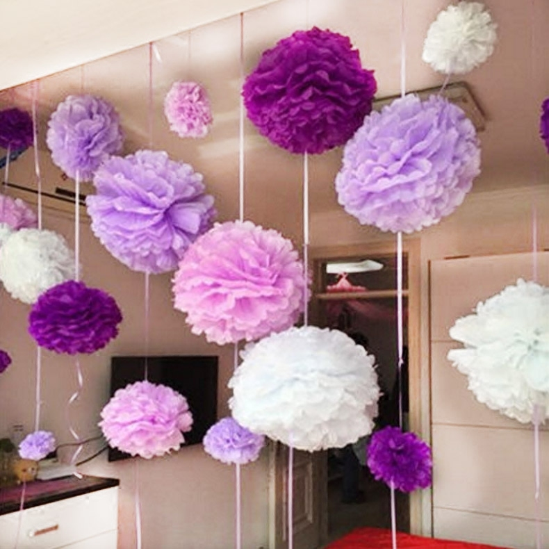 30cm paper peony flower ball wedding supplies paper garlands wedding room decoration wedding marriage room layout birthday