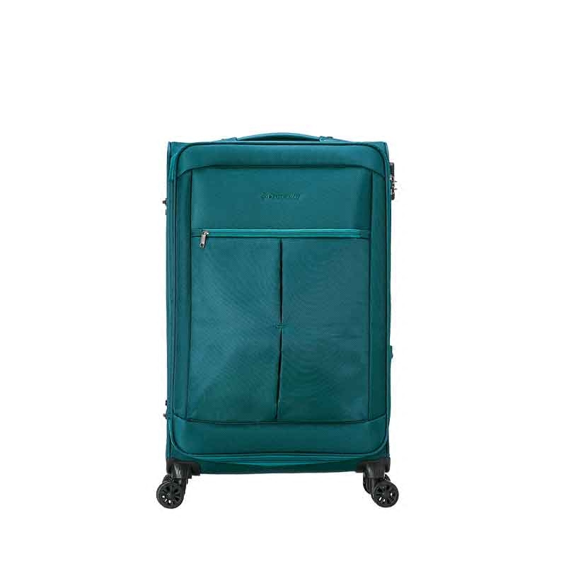Dunlop/shidenglupu oxford business trolley case suitcase board chassis suitcase tsa customs lock