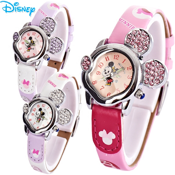 Free shipping authentic disney mickey korean fashion girls cute kids watch children watch girl students