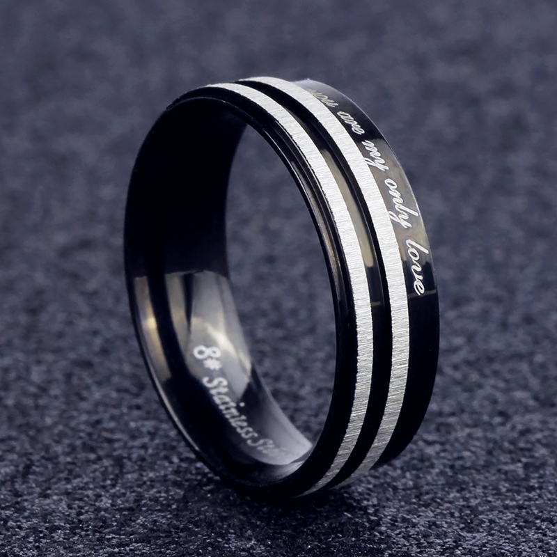 Japan and south korea personalized fashion titanium steel men's rings ring jewelry rings single men domineering retro influx of students
