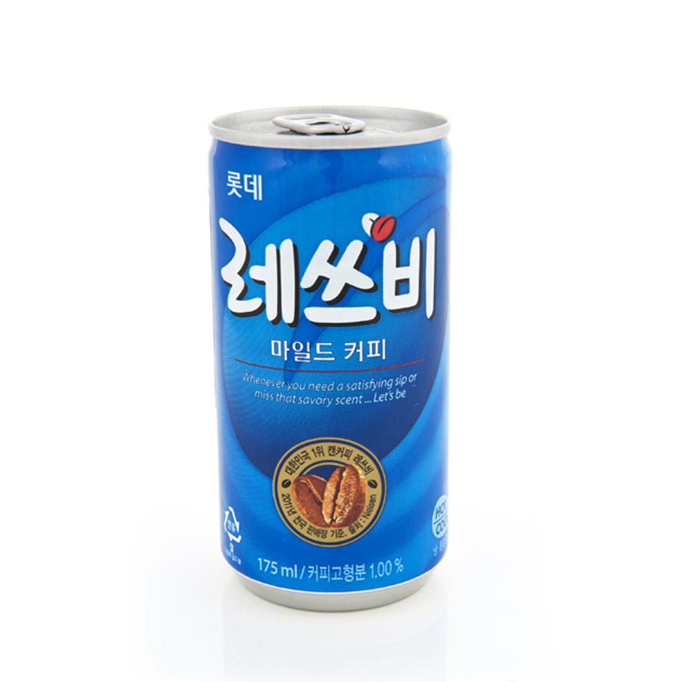 [Lynx supermarket] south korea imported lotte to shi will drink coffee 175 ml/listen
