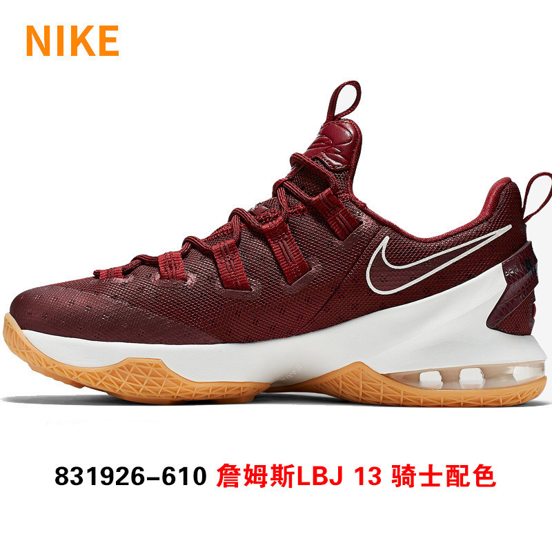 new arrival 31218 10410 Get Quotations · Nike lebron james 13 basketball shoes to help low low bred  LBJ13 831926-610 now