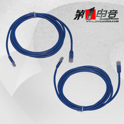 Quality network cable twisted pair cable network cable eight core twisted pair cable/network cable network cable blue 1 m